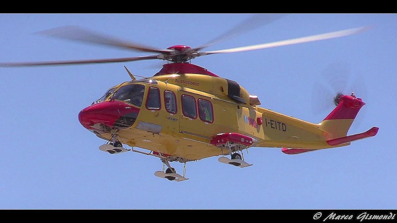 Elicottero 139 : Aw 139 [i eitd] inaer 118 elisoccorso toscana decollo da ospedale