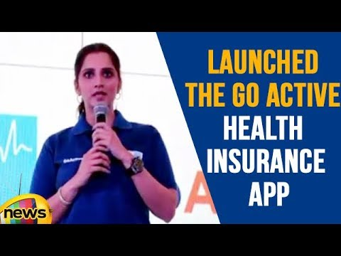 Sania Mirza Launched The Go Active Health Insurance App in Delhi | Mango News