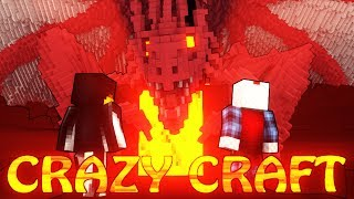 "Minecraft | CrazyCraft - OreSpawn Modded Survival Ep 14 - ""EYE OF DESTRUCTION BOSS"""