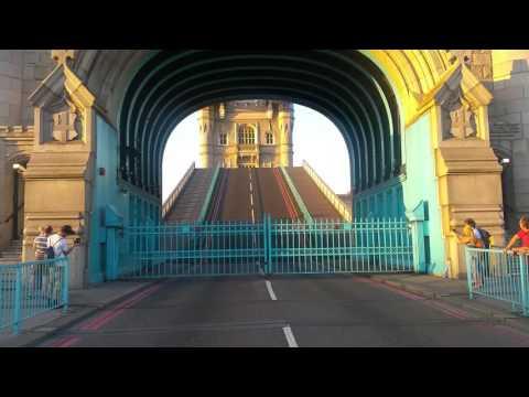Londres Ponte Tower Bridge Opening