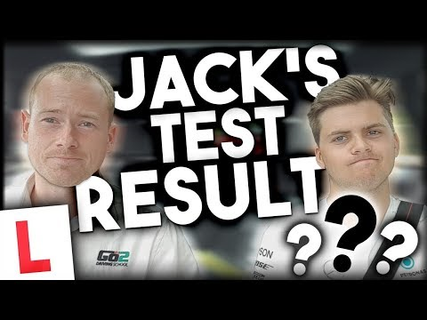 Driving Test Day with Jack (2/2) The Final Result.