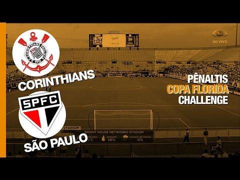 Pênaltis - Corinthians 3 x 4 São Paulo - Florida Cup - 21/01/2017