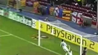 أول هدف لميسي في دوري أبطال أوروبا - Messi