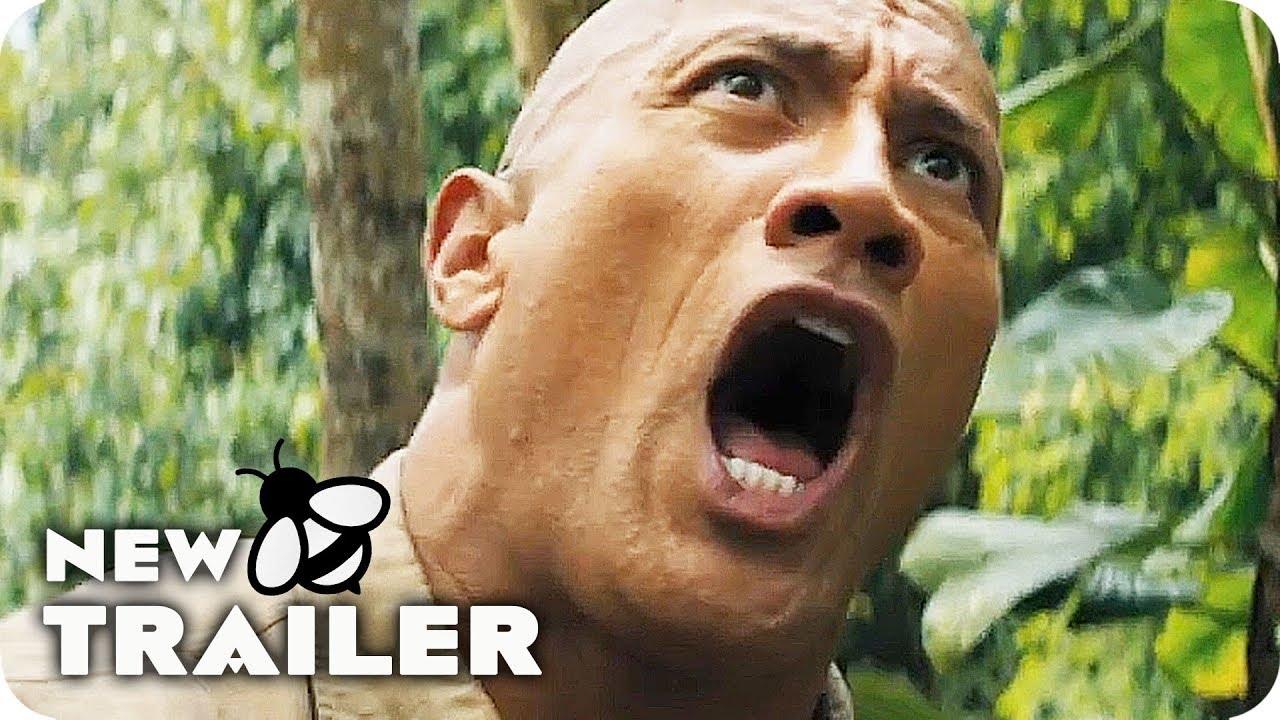 Jumanji 2 The Next Level Trailer 2 2019 Dwayne Johnson Sequel Movie