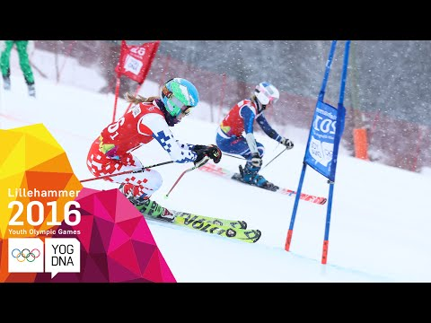 Alpine Skiing - Mixed Team Event - Full Replay | Lillehammer 2016 Youth Olympic Games