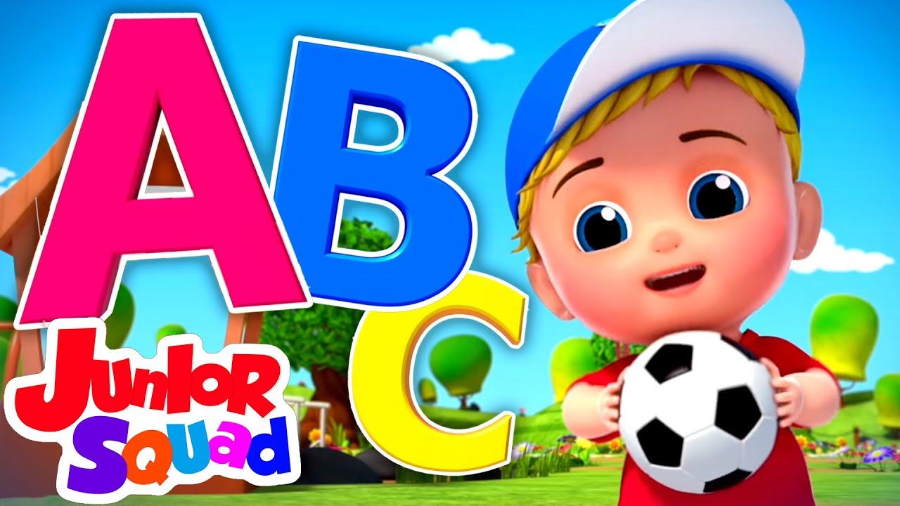 Lagu ABC | Kartun pendidikan anak | Video edukasi | Junior Squad Indonesia | Bayi sajak