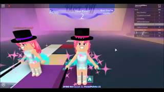 roblox - dance your blox off - in the name of love - duo with CookieSwirlCookie7 - acro