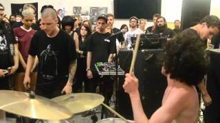 Full of Hell - Live 4/19/2015 @ Gatewood Studio Arts Building UNC-G GSO