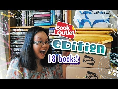 Book Haul Unboxing #73 - Mega Book Outlet Edition (May 2014)