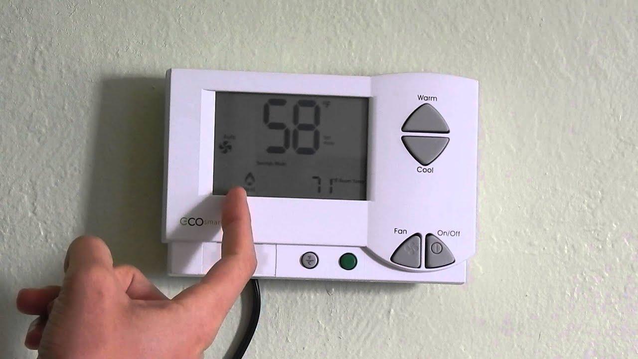 Telkonet Thermostat Tutorial