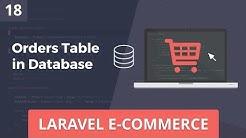 Laravel E-Commerce - Orders in Database - Part 18