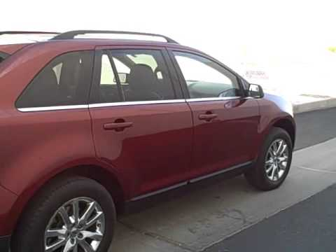 Sonora Nissan  S Pacific Ave Yuma Az   Ford Edge Sunset Metallic Stock