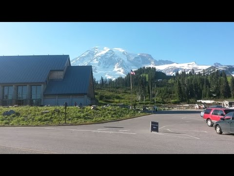 Mount Rainier Paradise Visitor Center