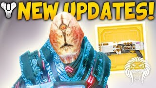 destiny 2 new rewards updates exotic quest prestige loot patch info broken strike