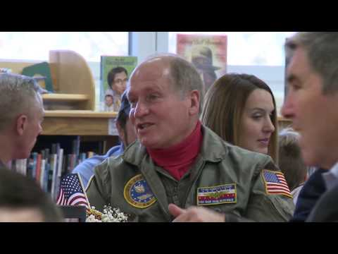 Veterans Day at Navy Elementary School