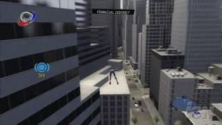 Spider-Man 3 PlayStation 3 Gameplay - Swinging Spider