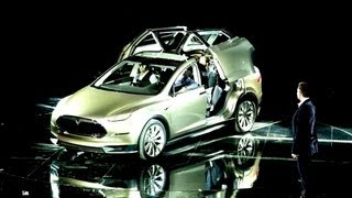 Tesla Motors Model X HIGHLIGHTS: An American Auto Revolution