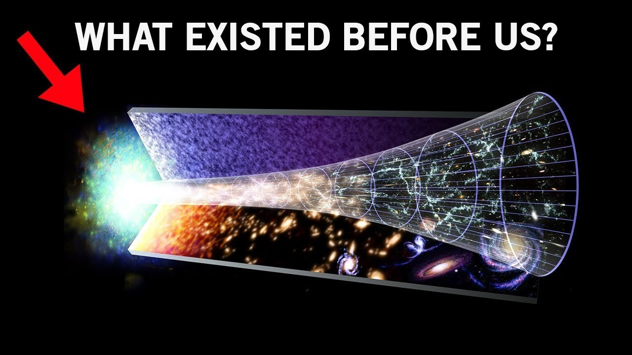 A Universe Existed Before Ours - Energy Coming from Black Holes!