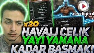 20 Adet Havalı Çelik Yay'a Yanana Kadar + Basmak - Metin2 TR #162
