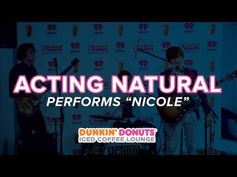Acting Natural Performs  'Nicole' Live | DDICL