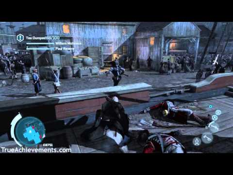 Assassin's Creed III - The Tea Party - Full Synchronization