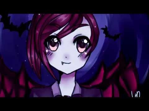Cute Vampire Speedpaint