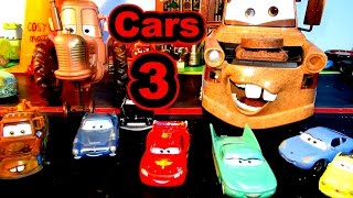 Pixar Cars 3 Trailer Parody with Lightning McQueen Mater and The Tractor Scene