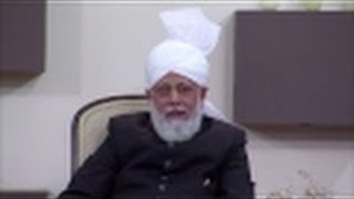 """Hazoor's instruction to Continue with """"Research"""" along with """"Teaching""""."""