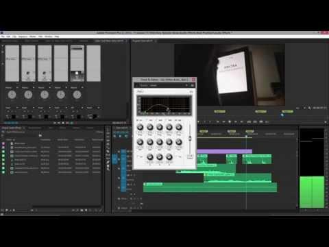 Audio FX Best Practices in Premiere Pro