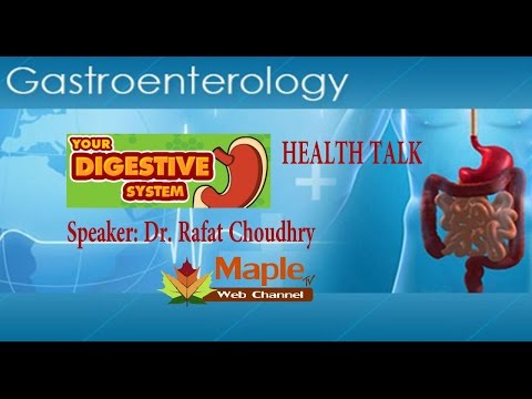 GAS-TROENTEROLOGIST DR. RAFAT CHOUDHRY TALKS ON APPROPRIATE FOOD FOR DIGESTIVE SYSTEM