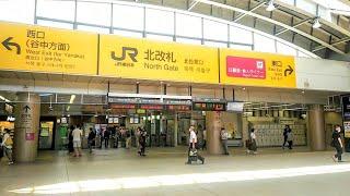 《乗り換え》日暮里駅、日暮里・舎人ライナーから京成本線・JR線へ。 Nippori
