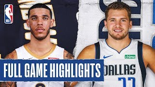 PELICANS at MAVERICKS | FULL GAME HIGHLIGHTS | March 4, 2020