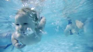 Плавание грудничков