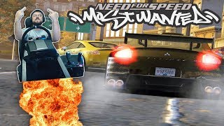 САМЫЕ ЗАЖИГАТЕЛЬНЫЕ ГОНКИ NEED FOR SPEED MOST WANTED