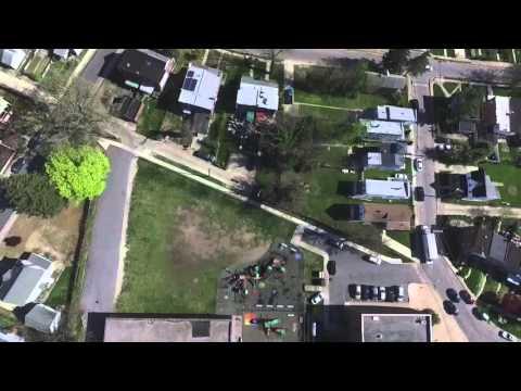 Govans Elementary School Drone exhibition