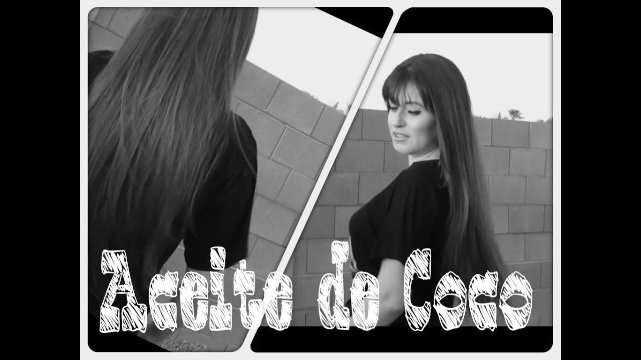 Tratamiento para el Cabello de Aceite de Coco / Tratamiento para Cabello Maltratado o con Caspa , YouTube
