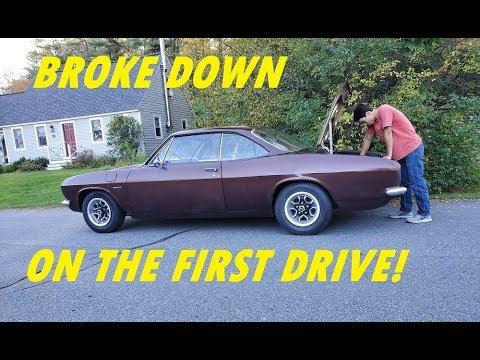 My New Corvair BREAKS DOWN On Its FIRST Drive!