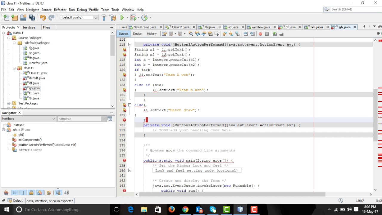 CBSE CLASS 12| How to make a score board in JAVA netbeans IDE| IP| sumita  arora