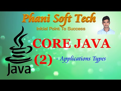 Core Java Tutorial Session 2 - Phani Soft Tech thumbnail