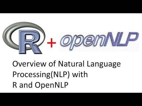 R and OpenNLP for Natural Language Processing NLP - Part 2