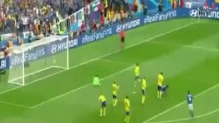 İtalya 1-0 İsveç Euro 2016 Özet