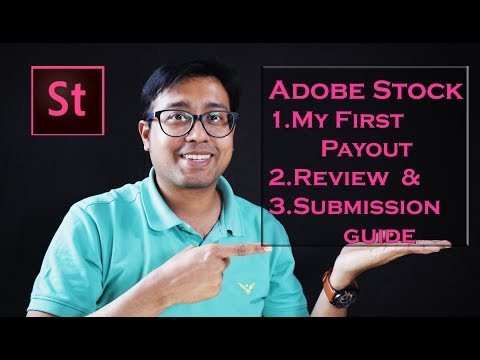 Adobe Stock : My personal review, First Payout & Upload tutorial. Micro Stock Photography Essentials