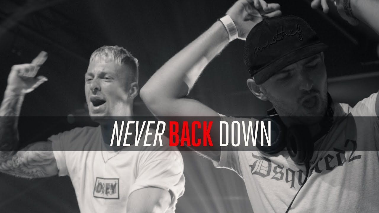 Download Rebelion ft. Micah Martin - Never Back Down (Official Videoclip)