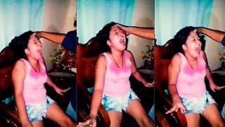 ИЗГНАНИЕ ДЕМОНА из Одержимой Девушки (Экзорцизм) Вселился Бес Или Дьявол - Страшное Видео