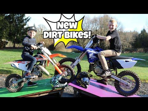 MX Long Jump Challenge! NEW Dirt Bikes!!