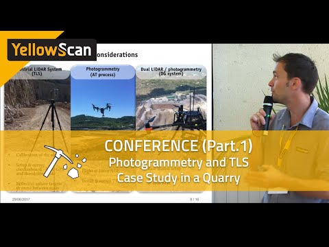 LiDAR for Drone 2017 -  LiDAR, Photogrammetry and TLS, a case study in a Quarry