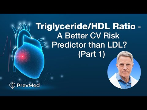 Triglyceride/HDL Ratio - A Better CV Risk Predictor than LDL