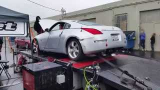 NA 06 350z dyno bolt ons only no tune