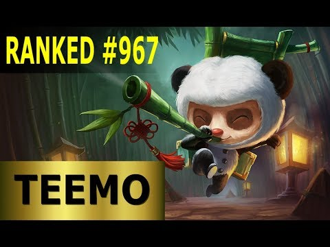 Teemo Top - Full League of Legends Gameplay [German] Lets Play LoL - Ranked #967