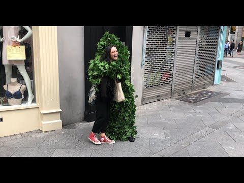 Bushman Prank: Gets more hugs than ever �😇
